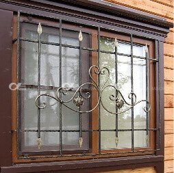 1 12 - Металлические решётки на окна и двери