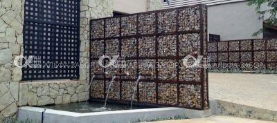 11 - Заборы из габионов