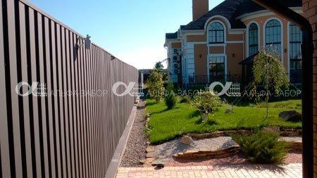 2 1 - Забор из профнастила