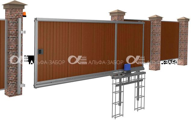 38402252 38402252 - Откатные ворота своими руками | Монтаж и установка. Фото, схемы.