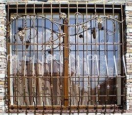 7 5 - Металлические решётки на окна и двери
