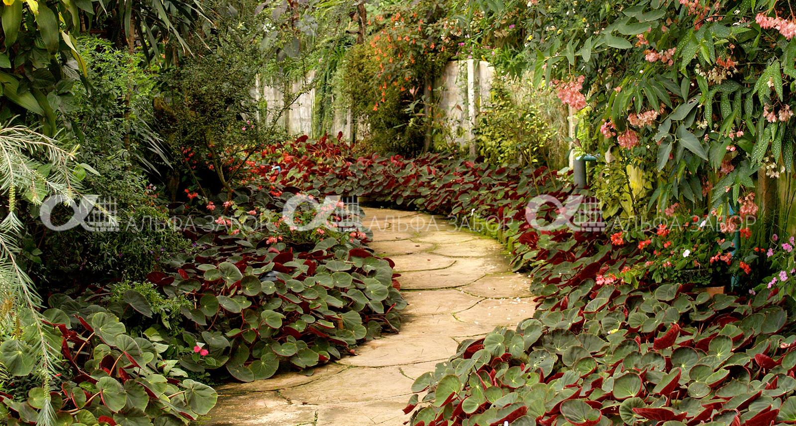 7 - Как сделать садовые дорожки своими руками