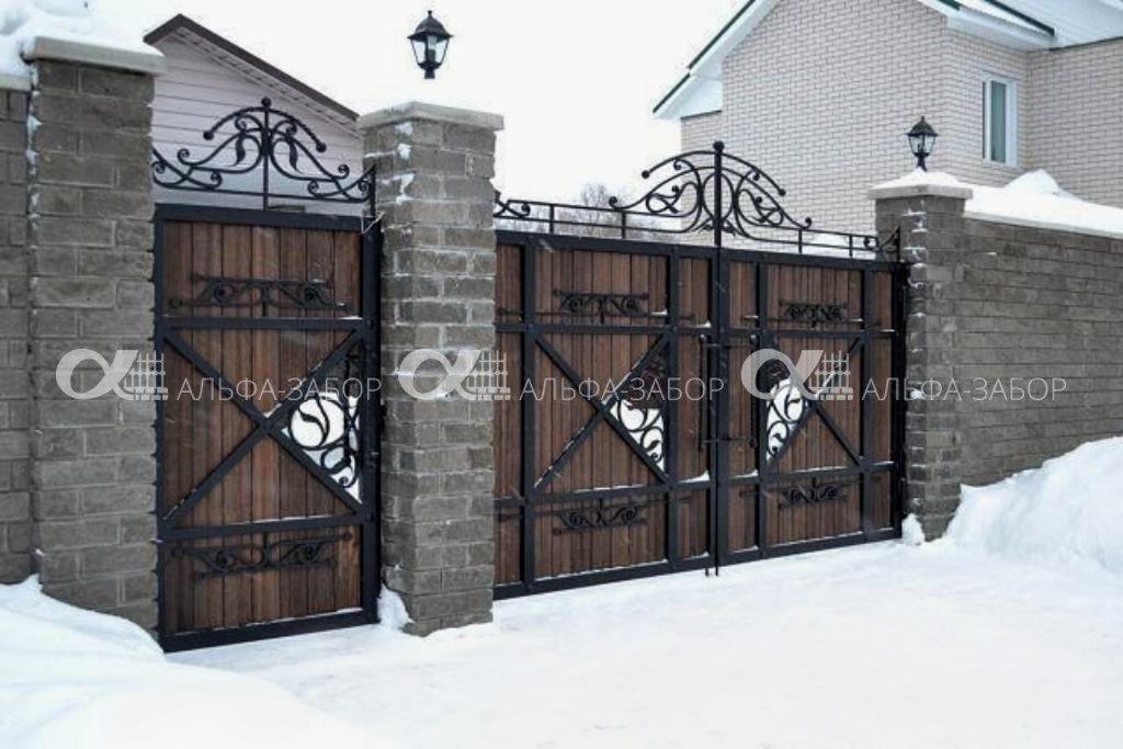 fotografii s telefona 2018 717 1 - Деревянные ворота