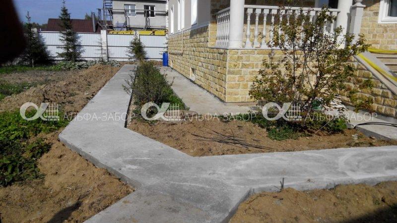 gallery 11b6ce54e43e8f4f44242ba93b8c6620 800x450 - Бетонирование отмосток садовых дорожек