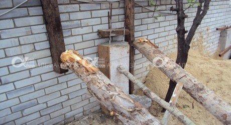 kak nelza 017 - Последствия в случаях безграмотного строительства забора, или как ненужно строить