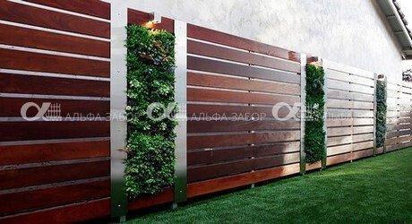 Деревянный забор — модное и актуальное ограждение