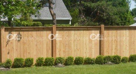 деревянный забор низкие цены