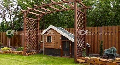 zabor derevo 3 - деревянный забор низкие цены